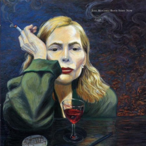 Joni Mitchell... inspiration for the author photo by  WILK