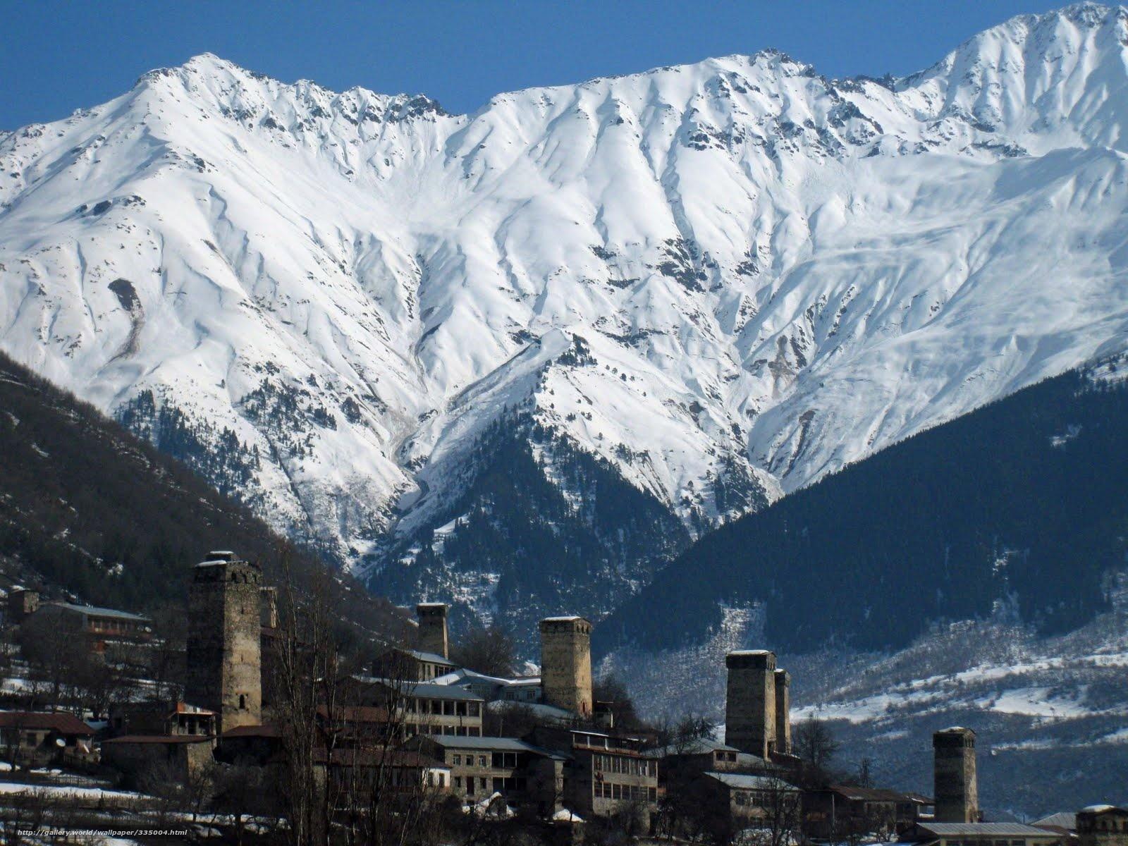 svaneti mountains