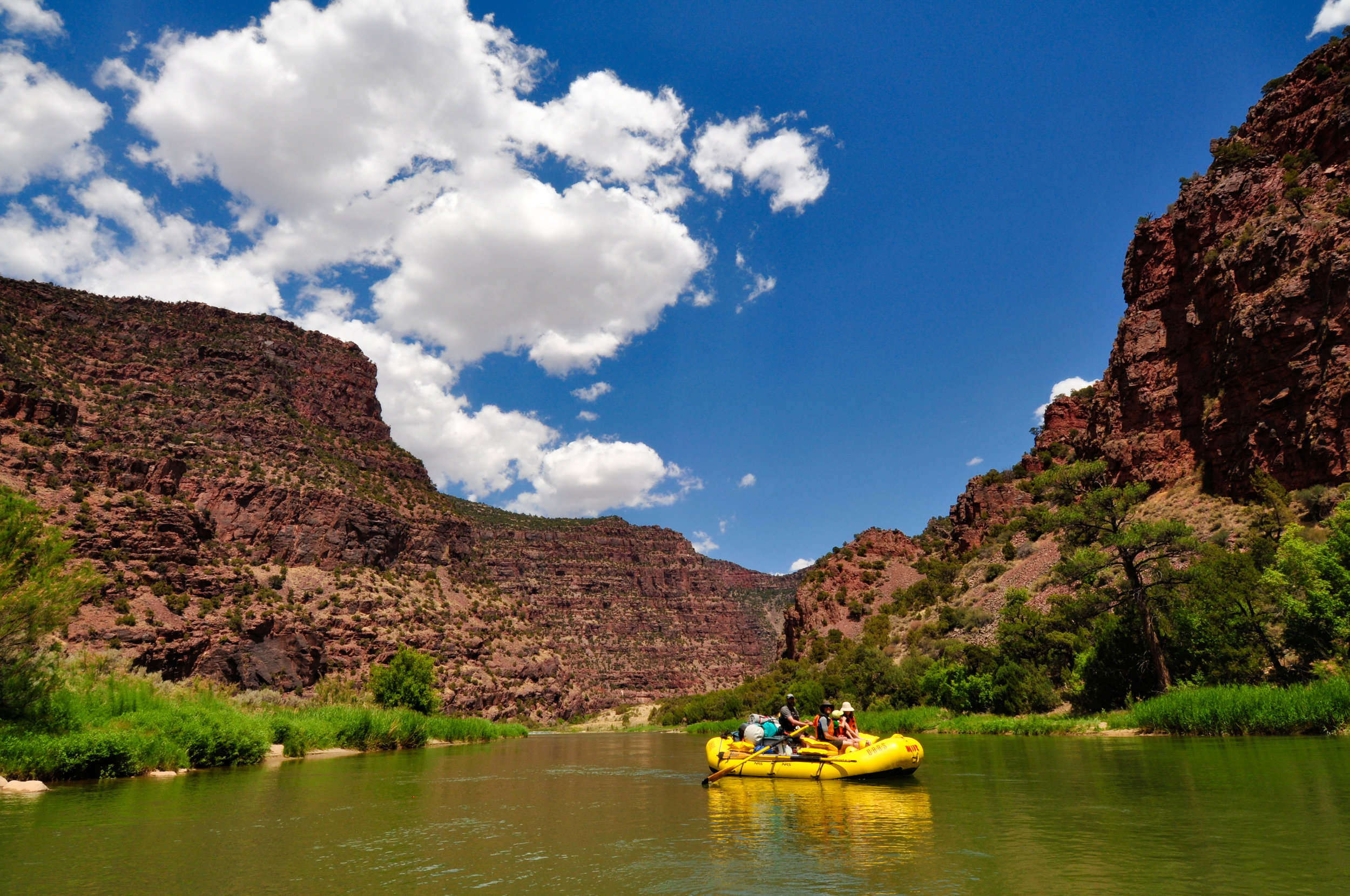 Rafting the Green River - 3-5 days