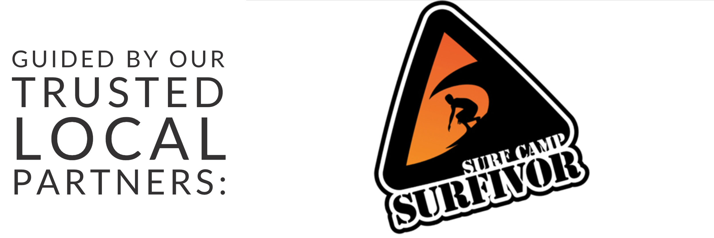 Guided by our trusted local partners: Surfivor Surf Camp