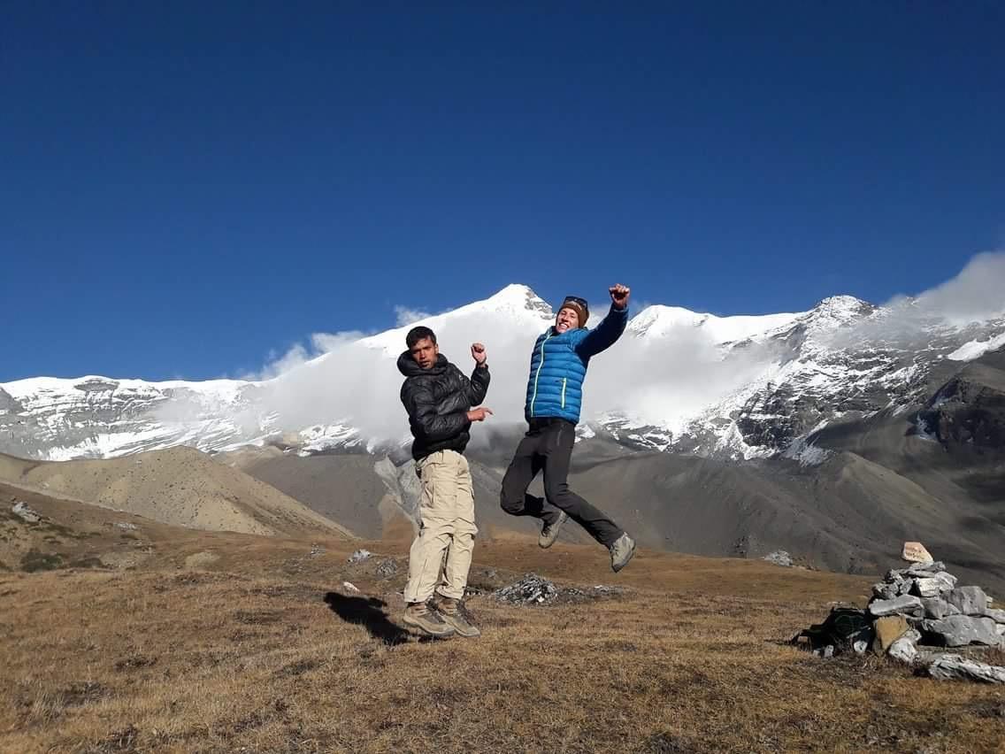 Thorong La Pass by Martine K