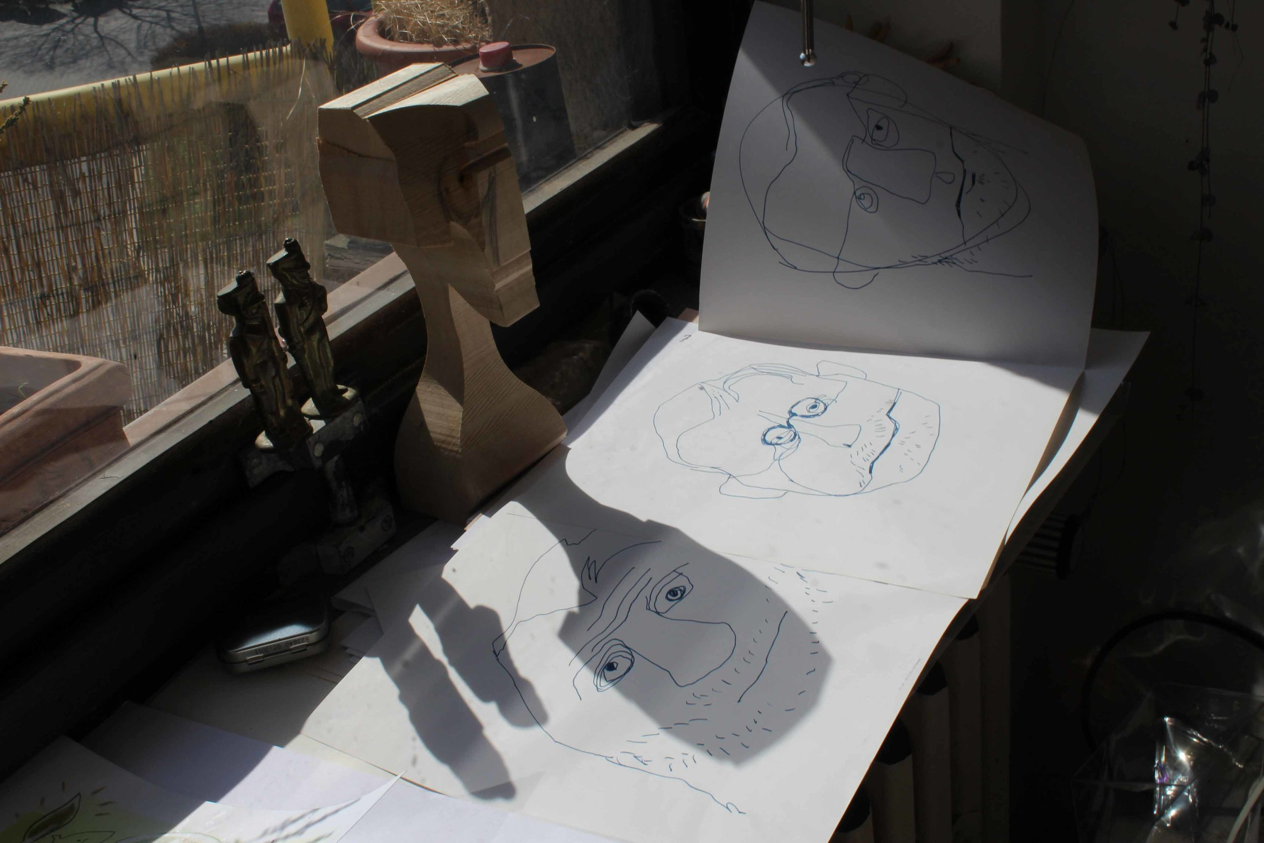 Bartoňová typically sketches designs for her marionettes on paper, however, she has begun to use digital technology to draw her designs. Bartoňová wants to project the ancient craft of puppetry into the digital age so that the art form can evolve with the times.