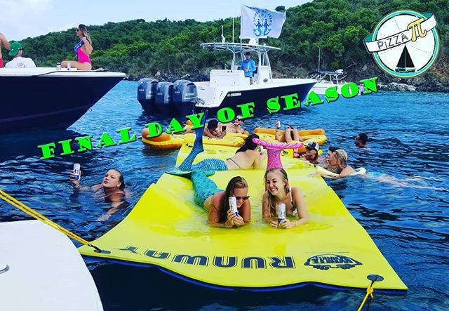While we can't promise Mermaids, we can promise a fun Sunday Funday send off to the 2018-2019 season. Ask the crew about the year end blowout on our beverages. While supplies last!  Thanks again Pi Nation for an amazing year!  #pizzapi #lifeofpi #pination #pizzainparadise #stthomas #stjohn #USVI #sundayfunday #vacation #explore #instatravel #adventure