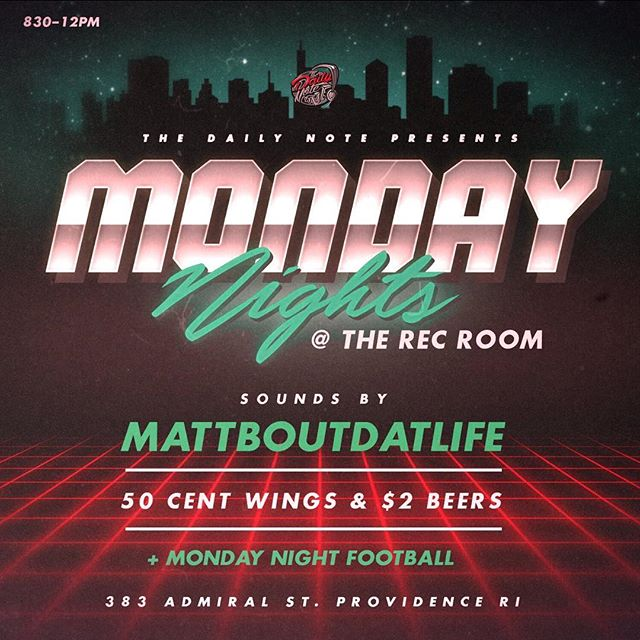 Where else can you cop 50 Cent Wings and a Nutcracker?  @recroompvd got it on smash 🔥