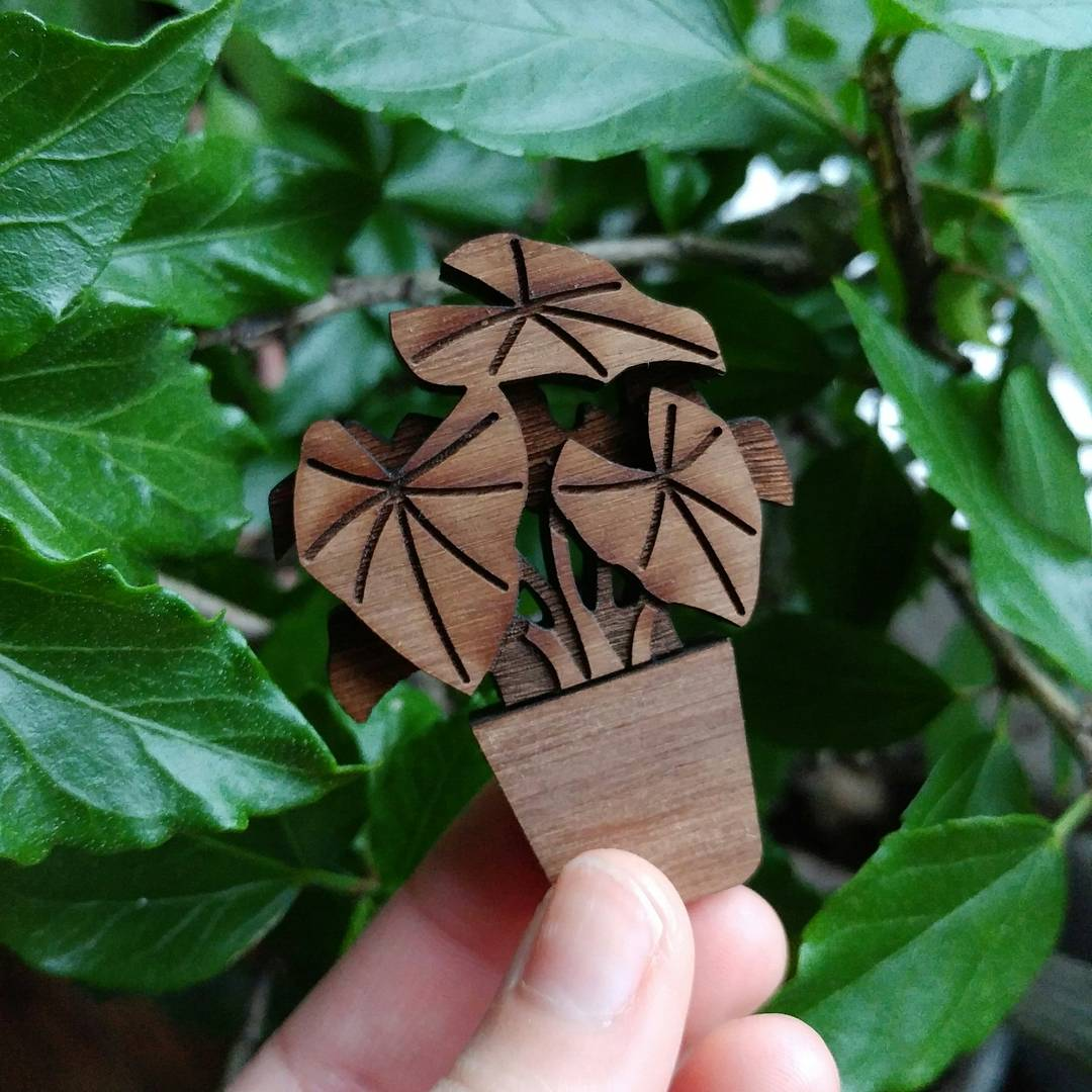 Plant USB & brooch design