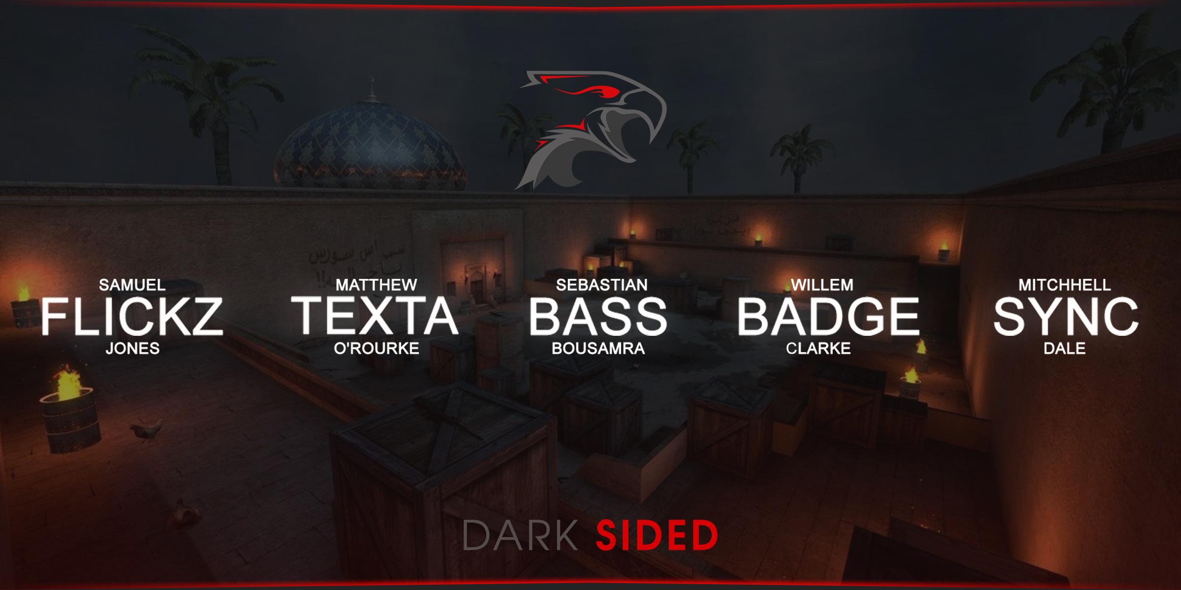 Dark Sided Counterstrike (CSGO) team roster