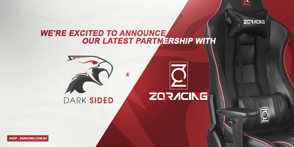 Dark Sided Partnership with ZQRacing Gaming Chairs