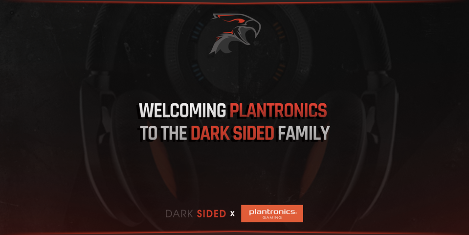 Dark Sided welcomes Plantronics Gaming to the family