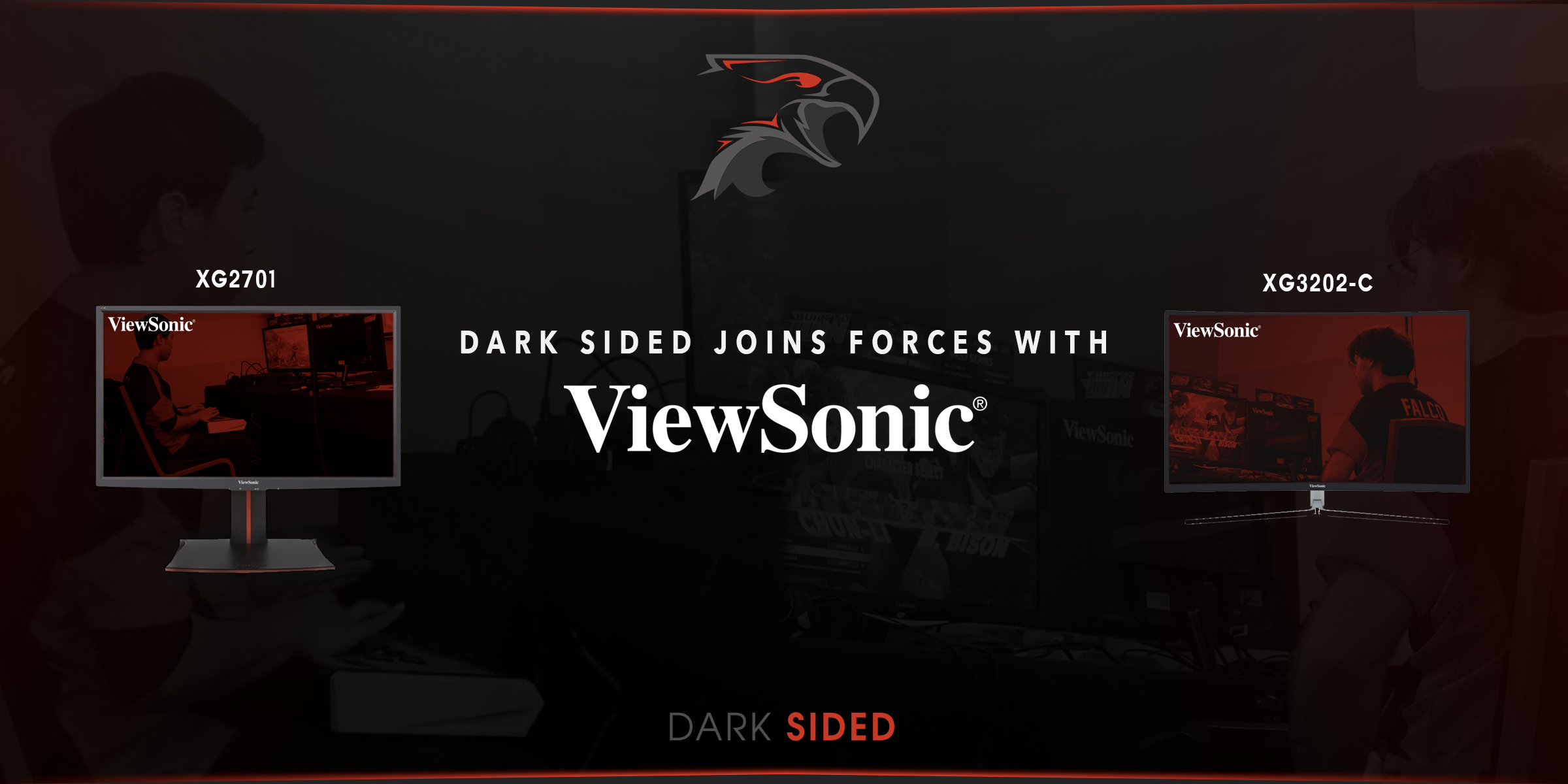 Dark Sided joins forces with Viewsonic Gaming