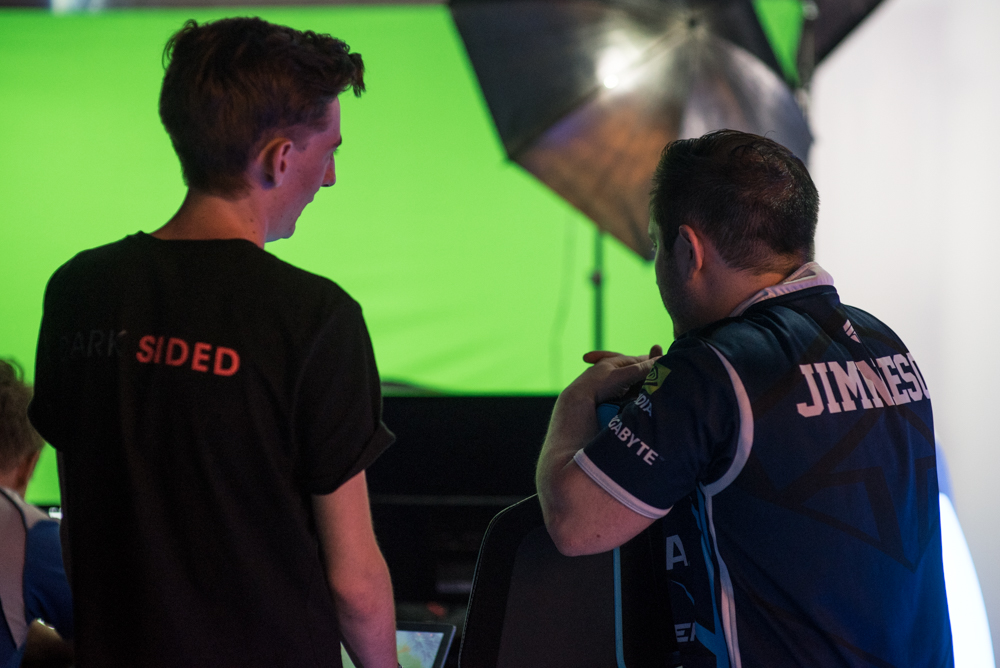 Dark Sided esports professional photoshoot