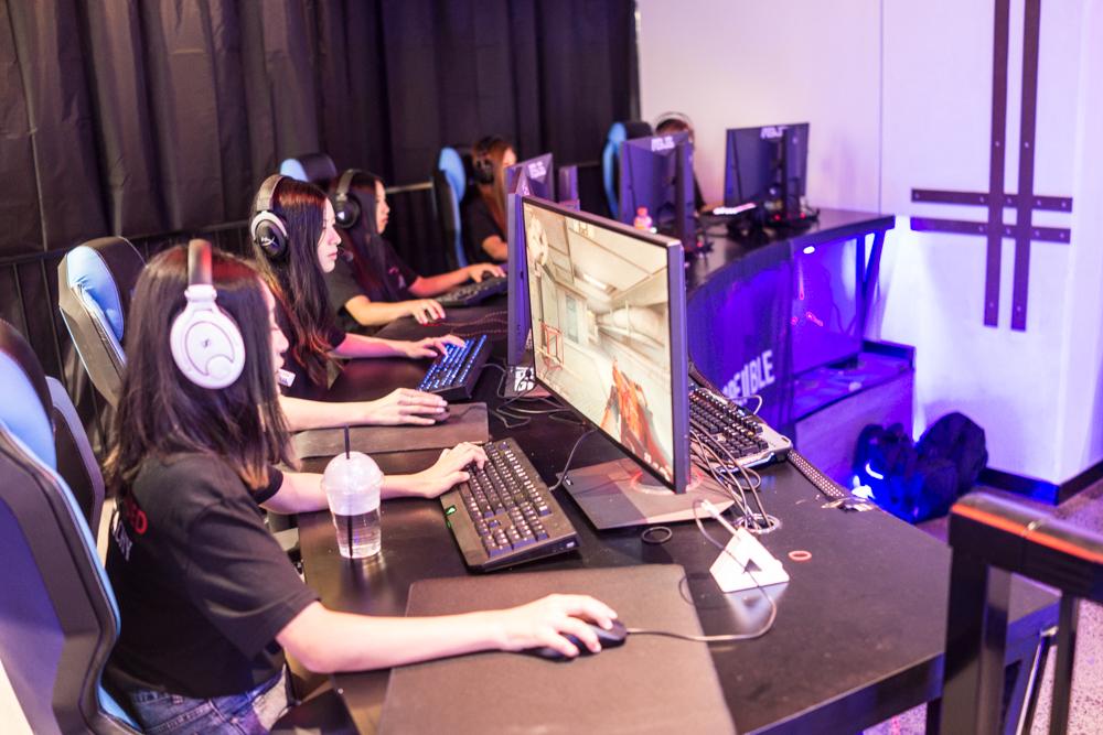 Dark Sided WPGI Female esports Counterstrike (CSGO) team