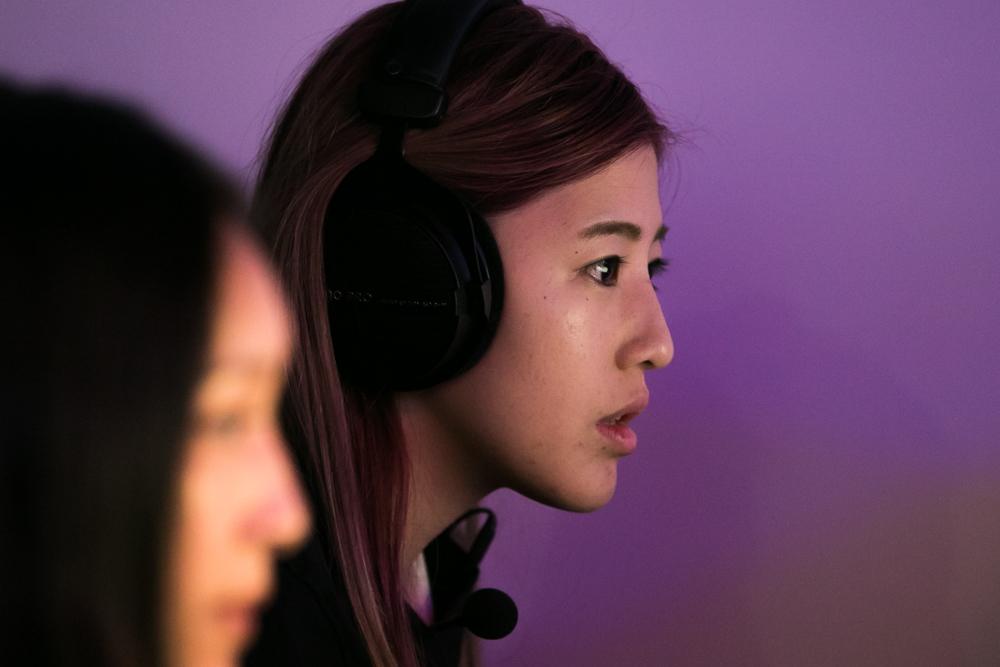 Dark Sided Female Counterstrike (CSGO) player