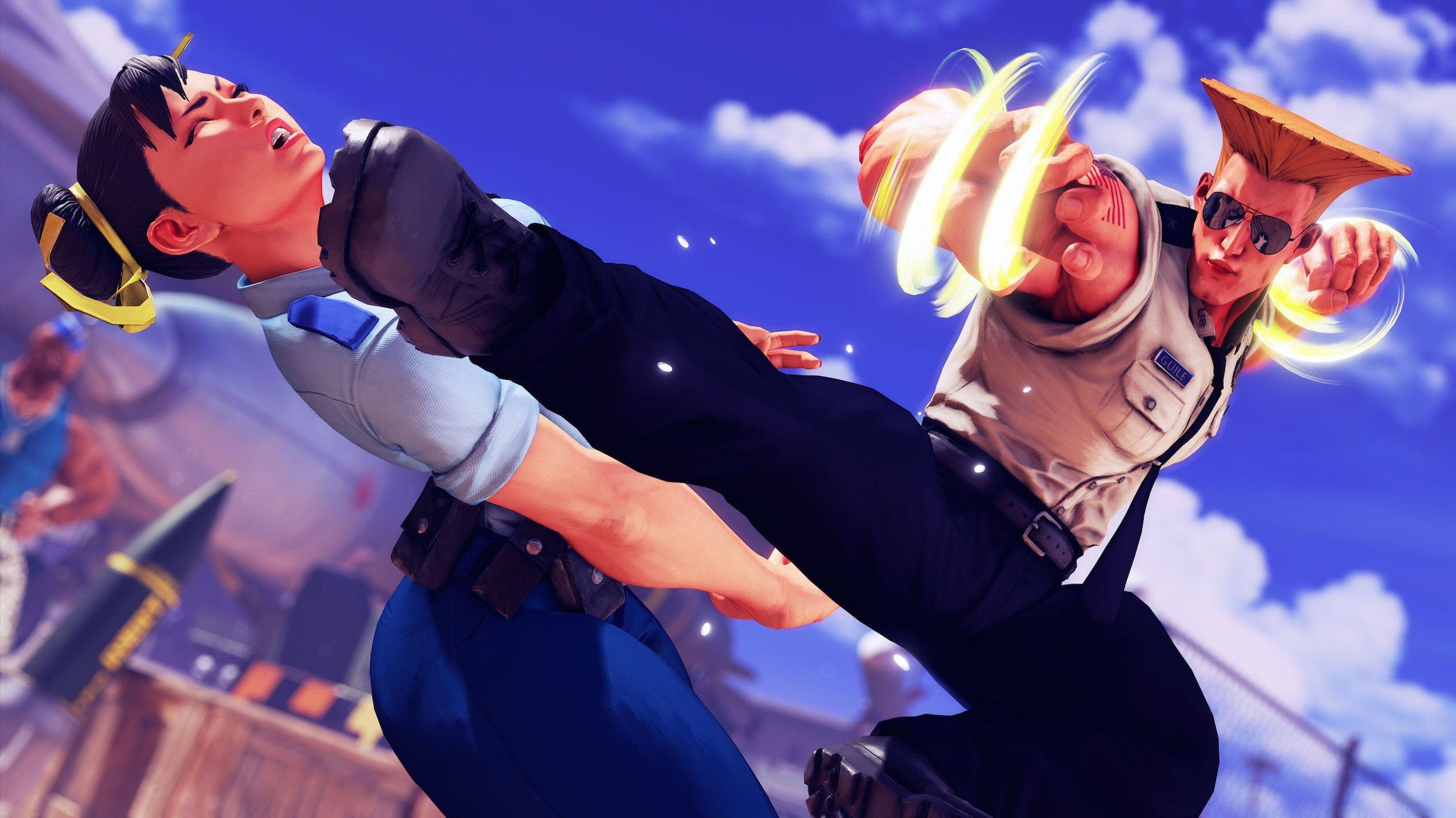 Dark Sided - Street Fighter V Chun Li vs Guile