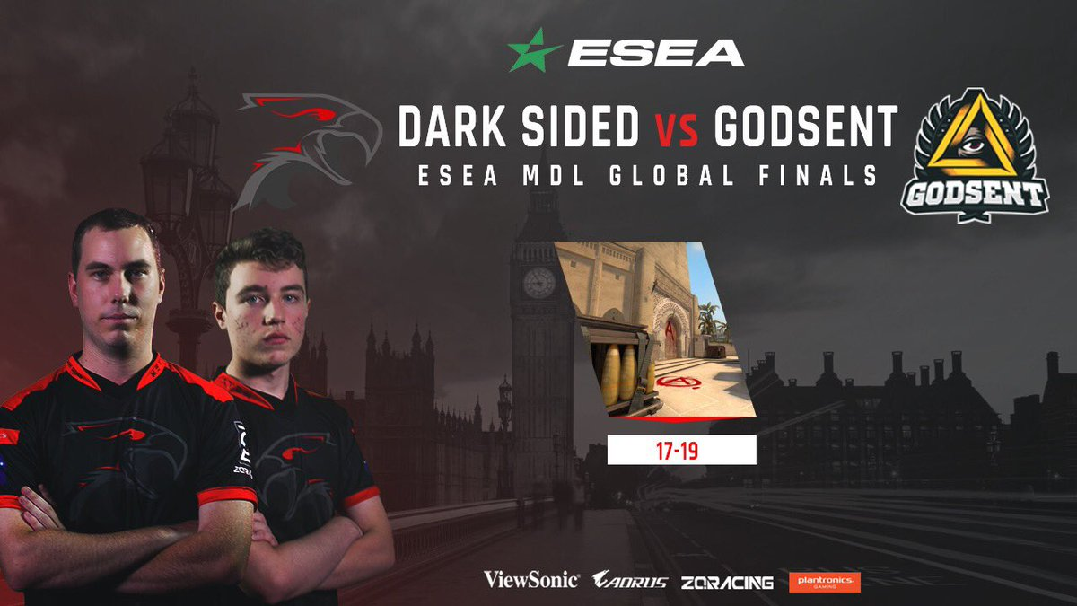Dark Sided team vs Godsent - ESEA