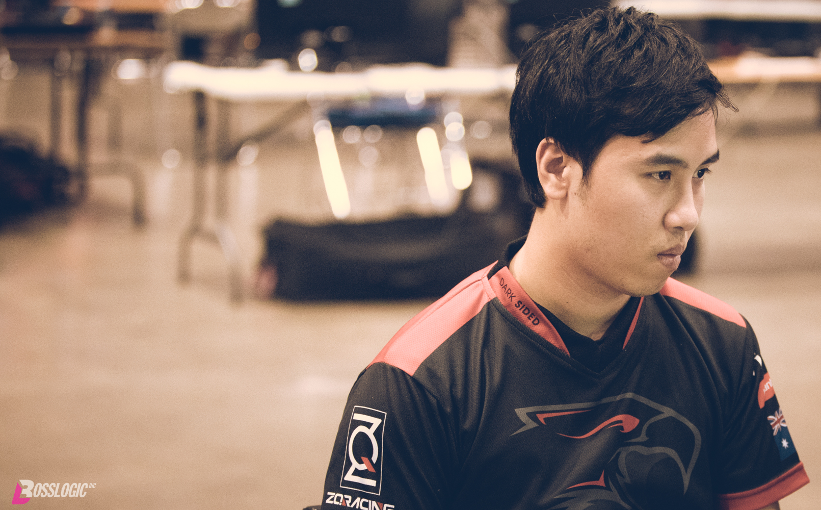Dark Sided Fighting Game Player ZG