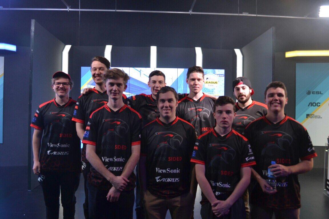 Dark Sided Counterstrike team (CSGO)