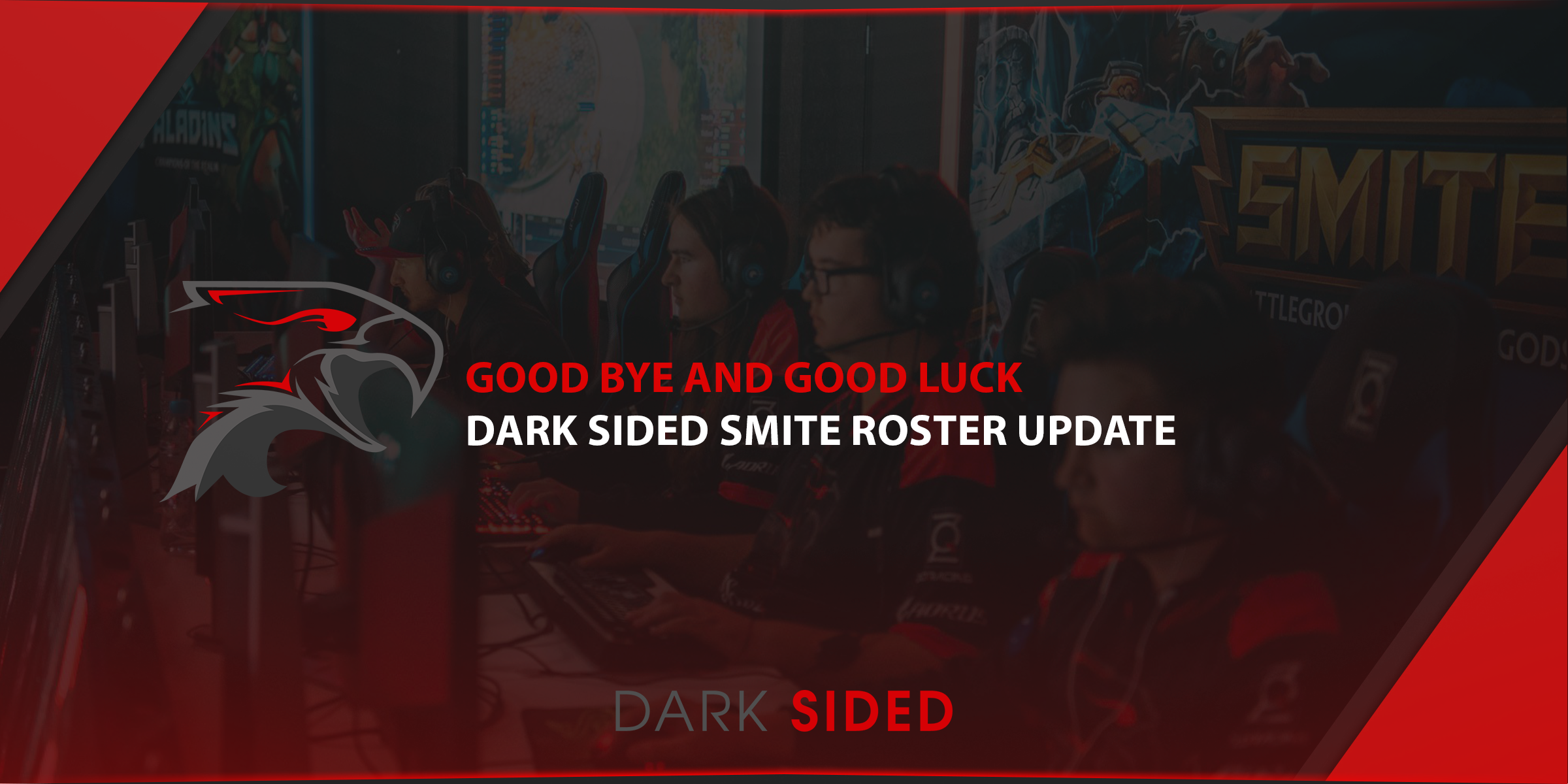 Dark Sided SMITE team