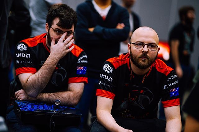 The DBFZ duo at #BAM11 (📸 @adventuresofsteeb) . . . . . . . . . . . #darksided #fromtheshadows #australia #esportsorganistion #proesports #progaming #esports #epic #videogames #games #gamer #toptags #gaming #instagaming #instagamer #playinggames #online #photooftheday #onlinegaming #pcgaming #instagame #instagood #gamestagram #gaumin #video #game #sydney #winning #play
