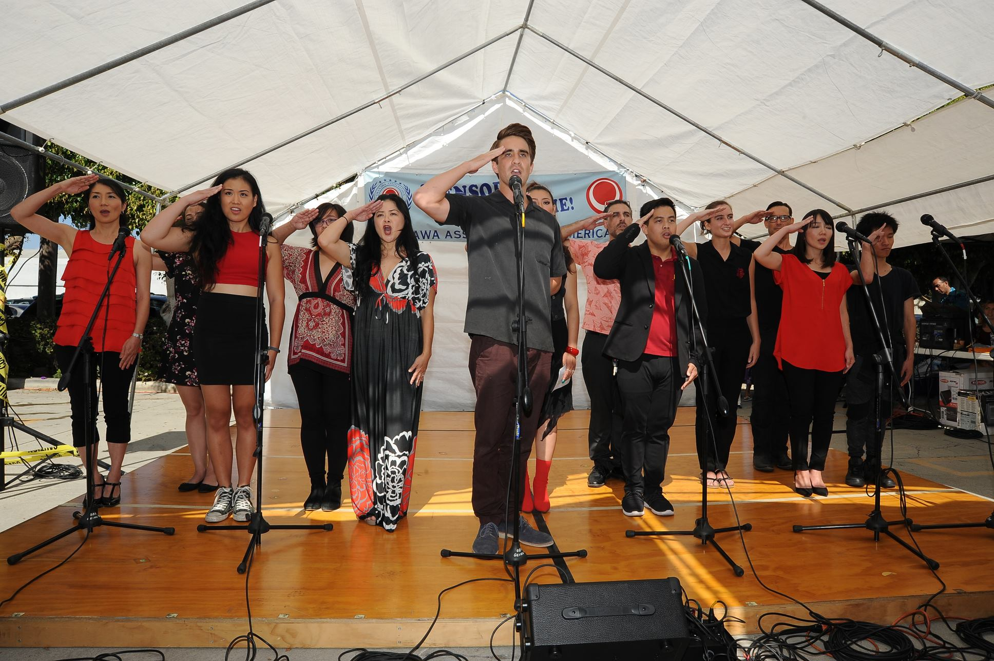 Letters To Eve Performing at The Okinawa Association Festival!