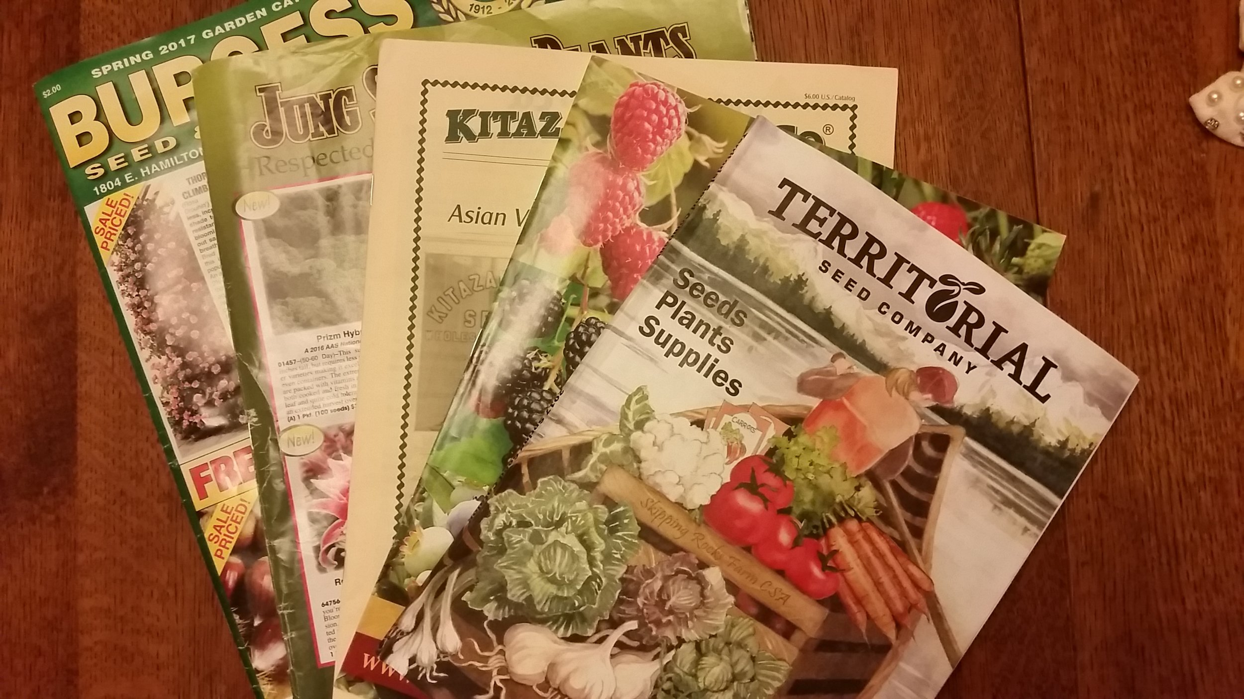 2017 Seed Catalogs Are Arriving!