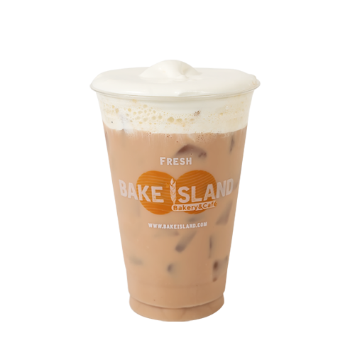 - Cheese Milk Tea