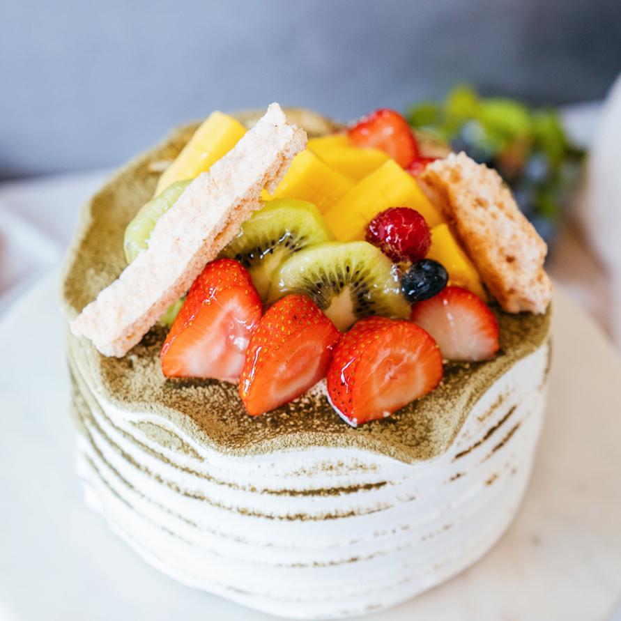 Matcha Mousse Cake   Japanese Matcha Mousse, Matcha Sponge Cake
