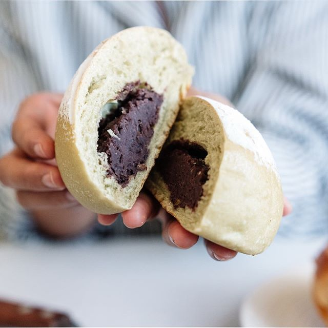 Who else is obsessed with red bean bun😍😍 . . I know red bean filling is really popular in Asia, won't too sweet but tasty 😋😋 . . #torontofoodie #instafood #torontofoodblog #torontoeats #torontoinfluencer #tastetoronto #toeats #blogto #sweet #redbean #sweetbun #yummy #多伦多美食