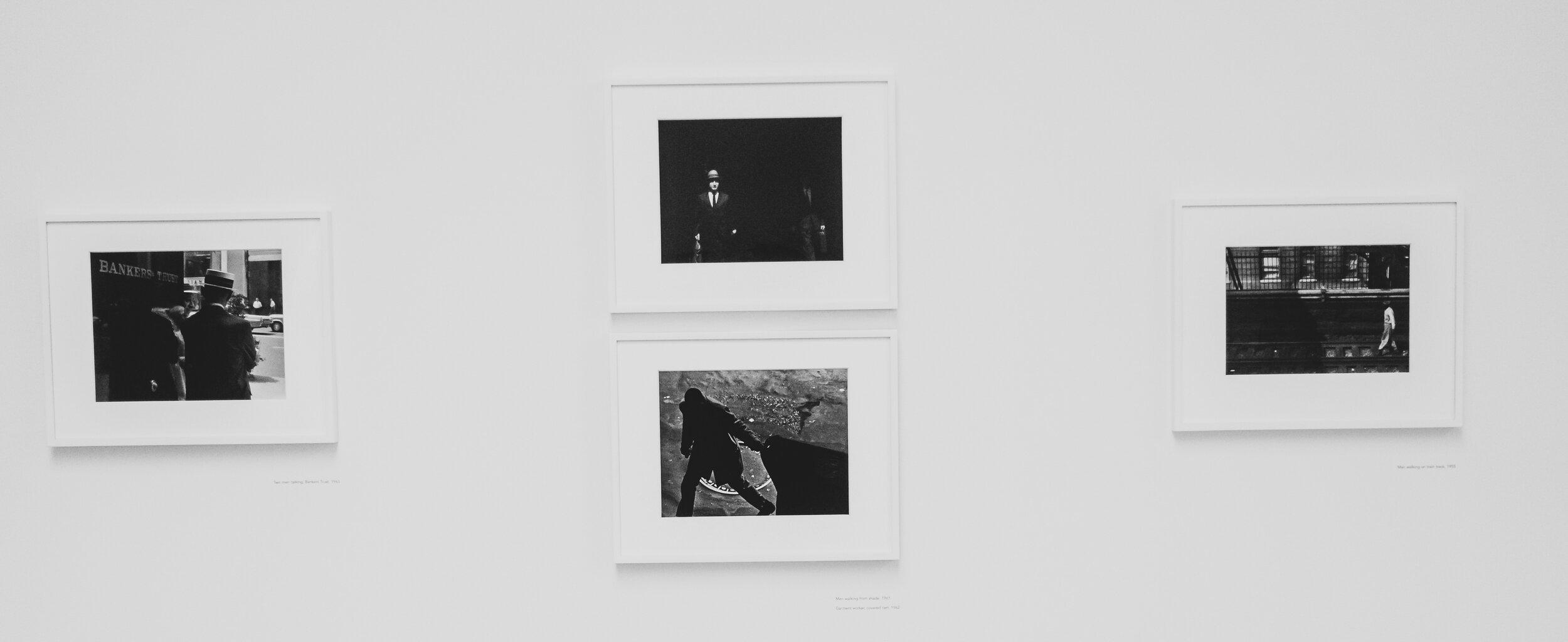 An elegant display of DeCarava's photos.