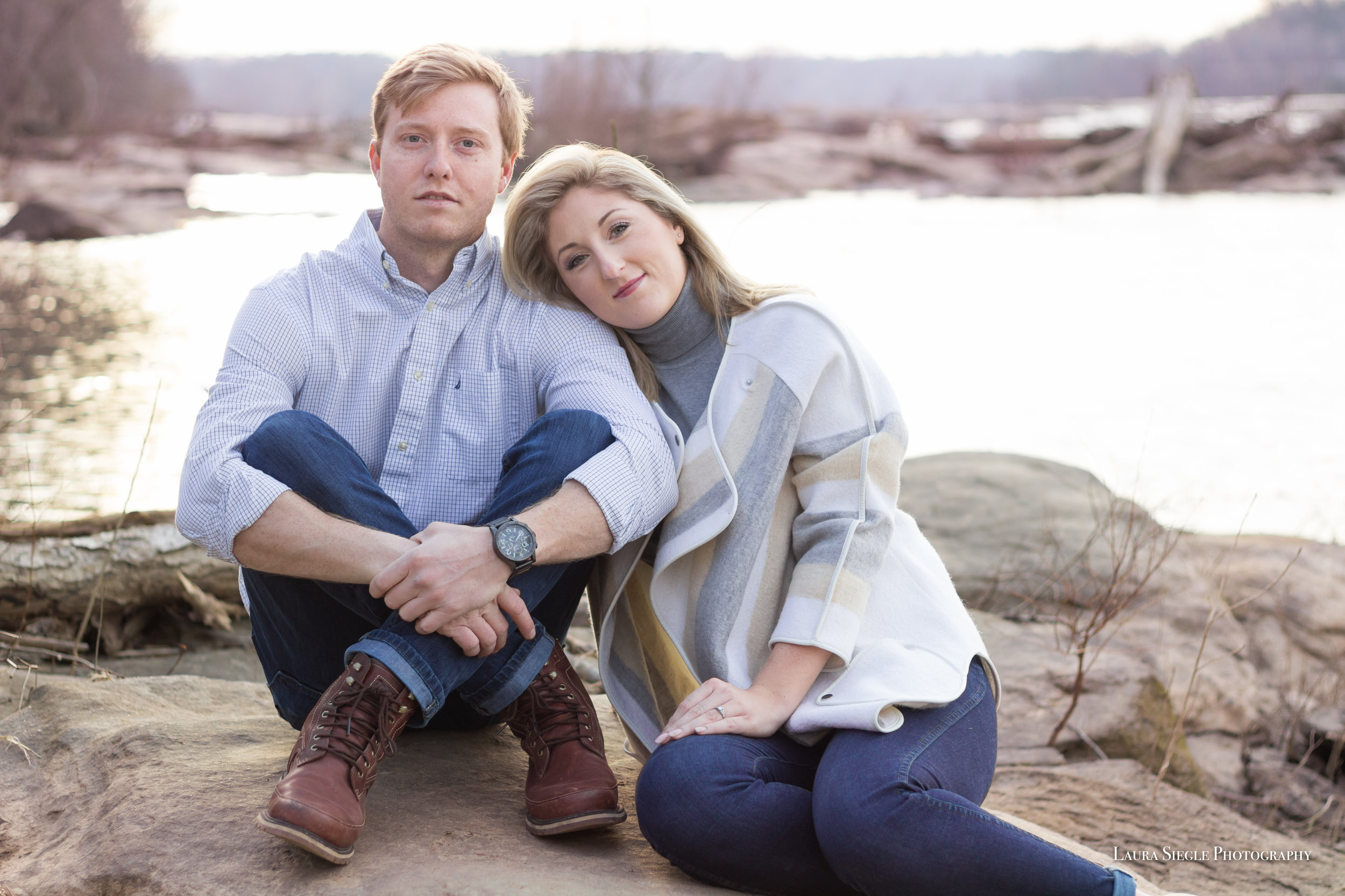 Richmond virginia engagement portrait photography