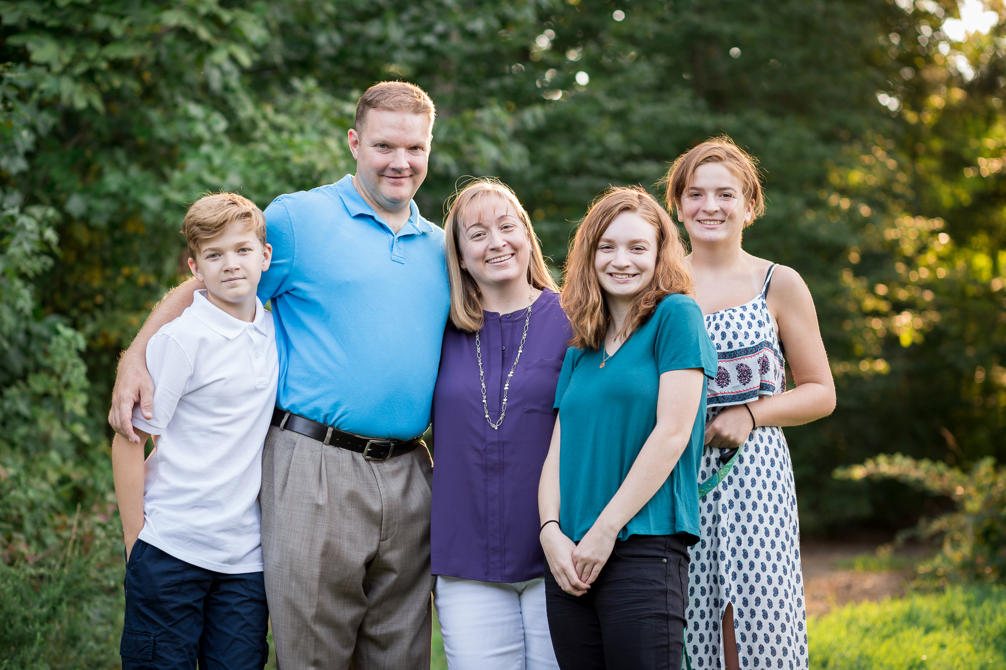 Richmond Virginia Family Photography Session in Midlothian