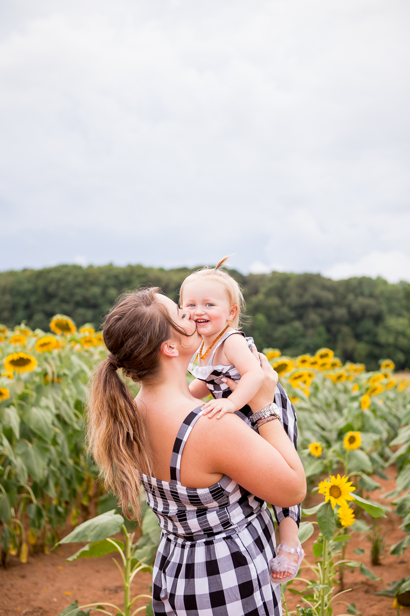 Virginia Sunflower Farm Portrait Session