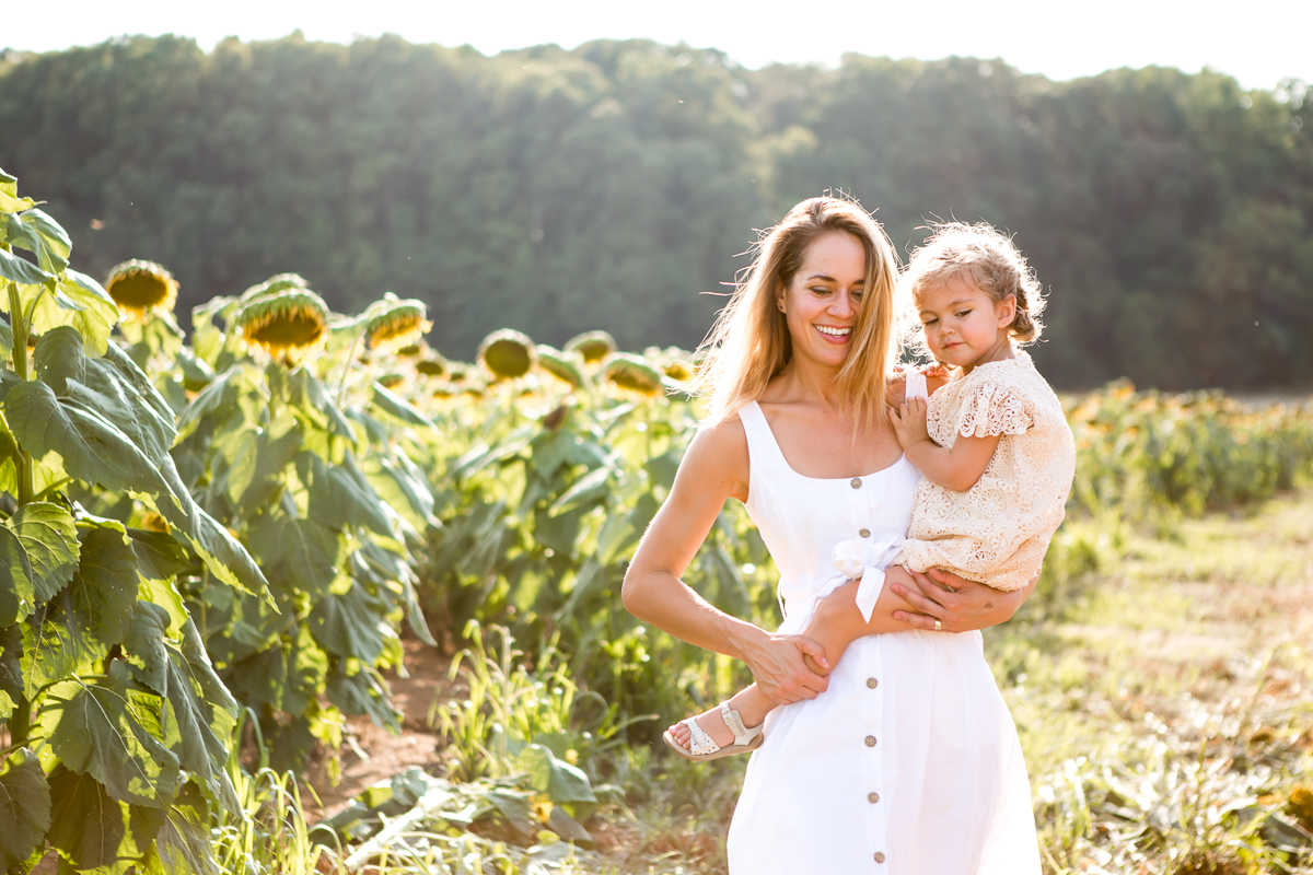 Richmond Virginia Sunflower Photo Session