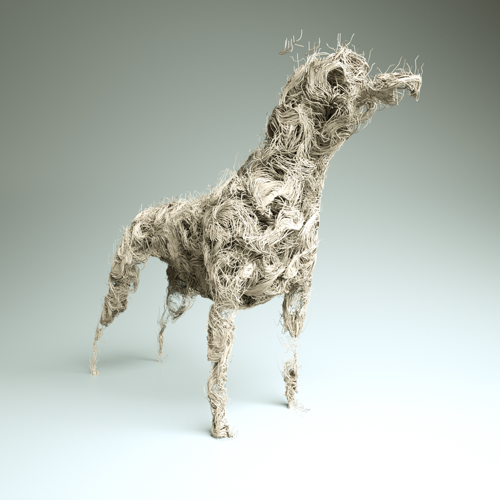 Ramen Noodle Dog. More X-Particles and Octane fun.