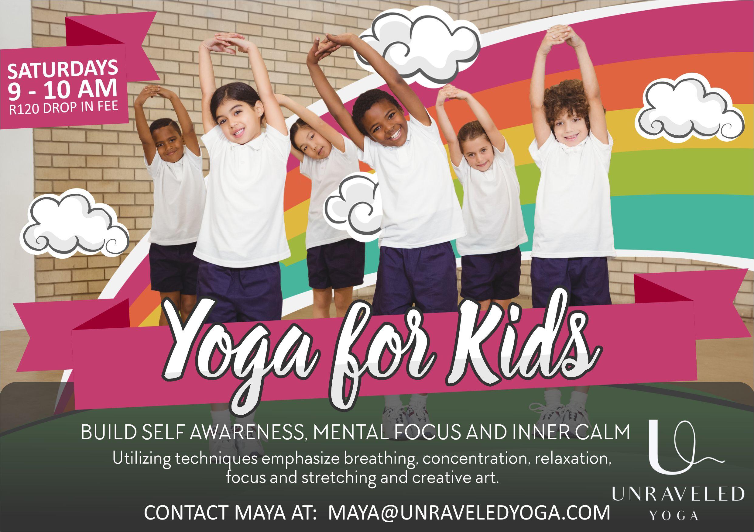 Cape Town Yoga Kids Yoga Vinyasa