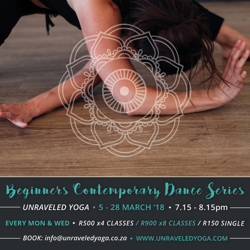 beginner contemporary dance series cape town