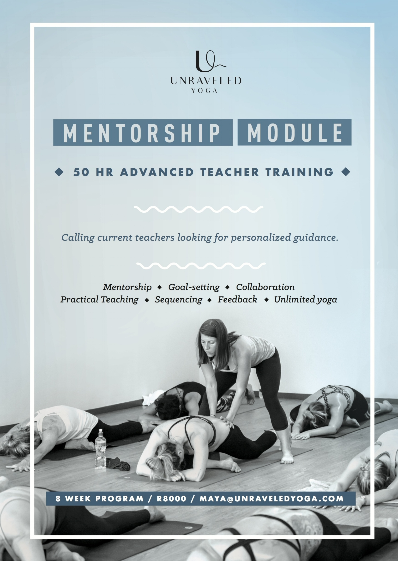 mentorship module advanced yoga teacher training cape town