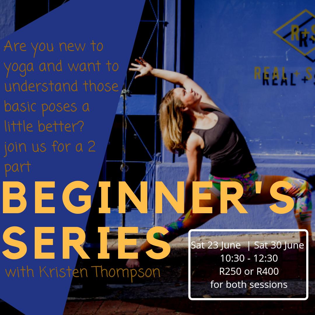 beginner yoga workshop series cape town