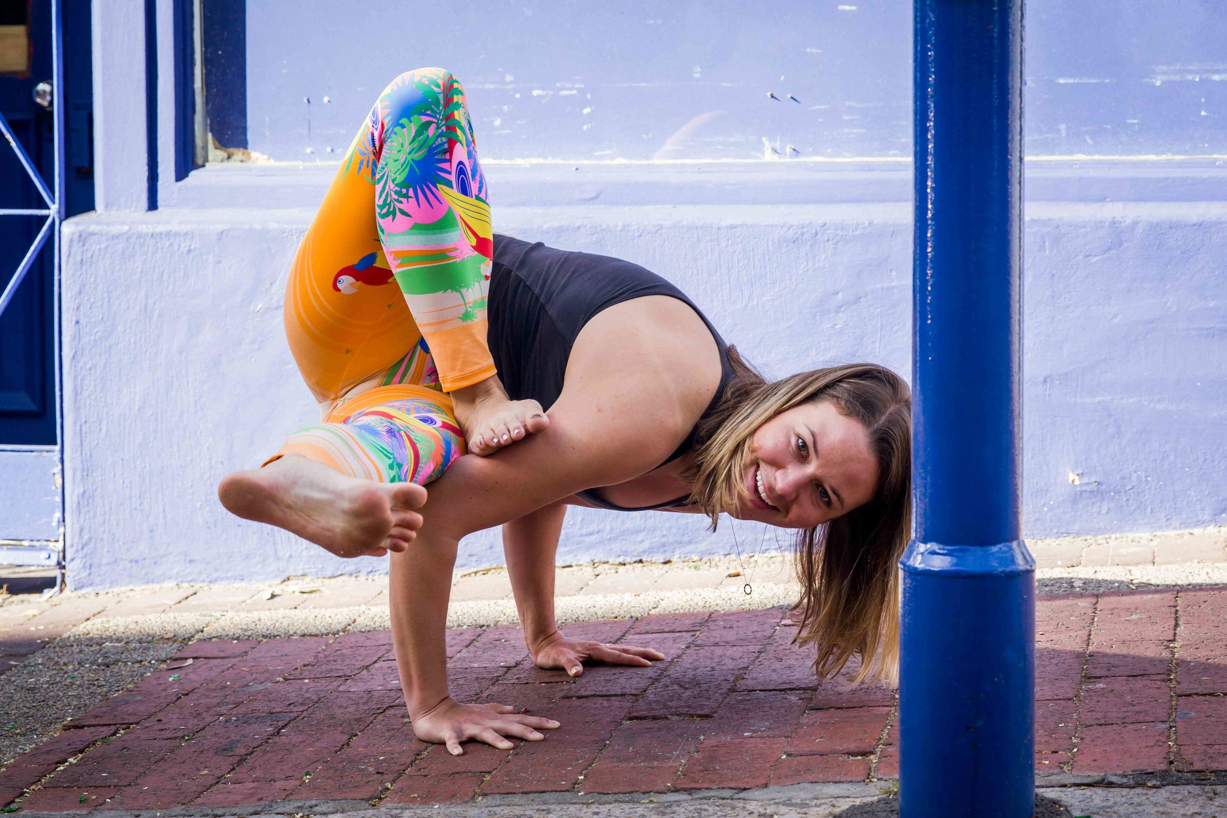 kristen yoga teacher cape town vinyasa flow