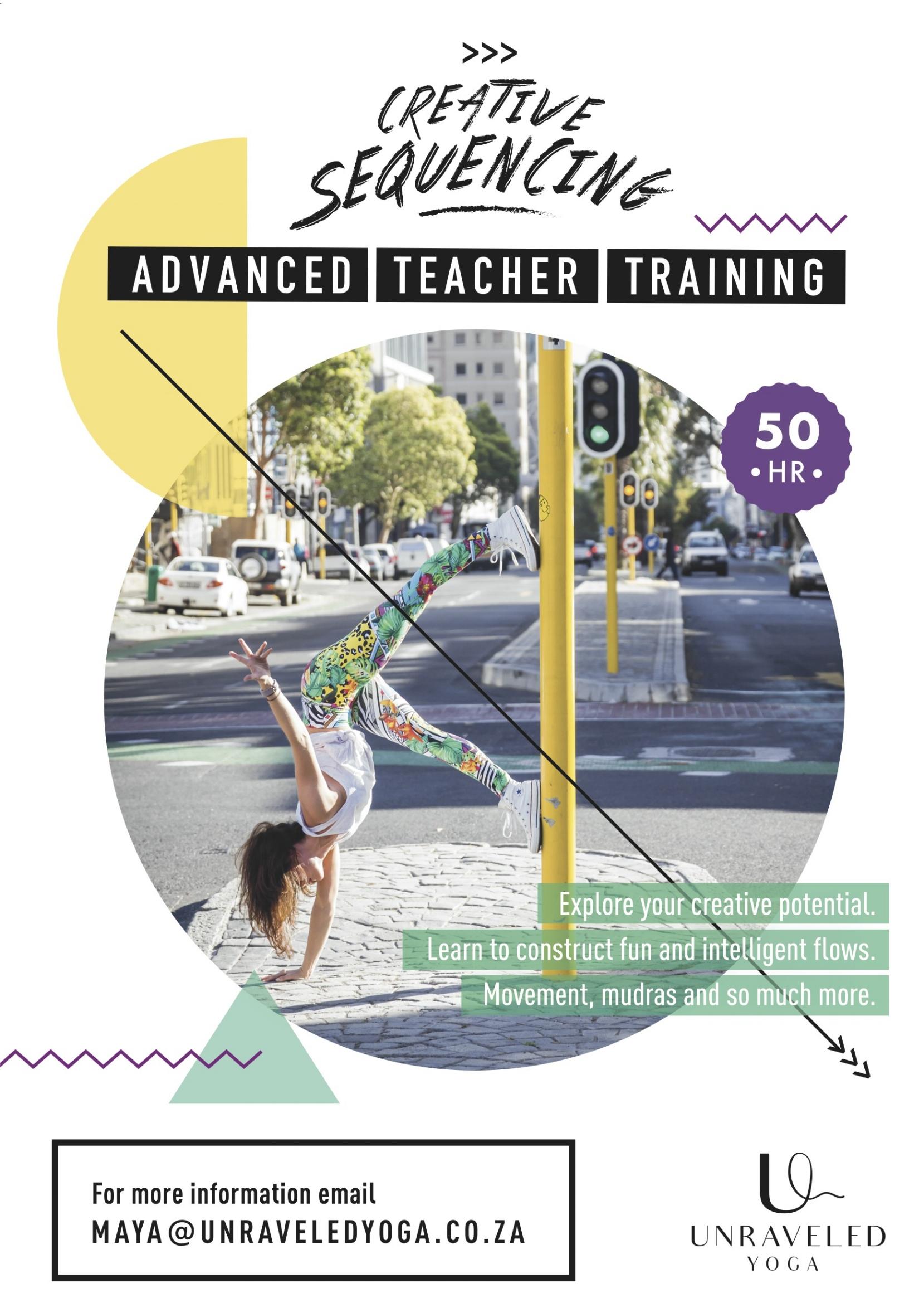 advanced teacher training creative sequencing