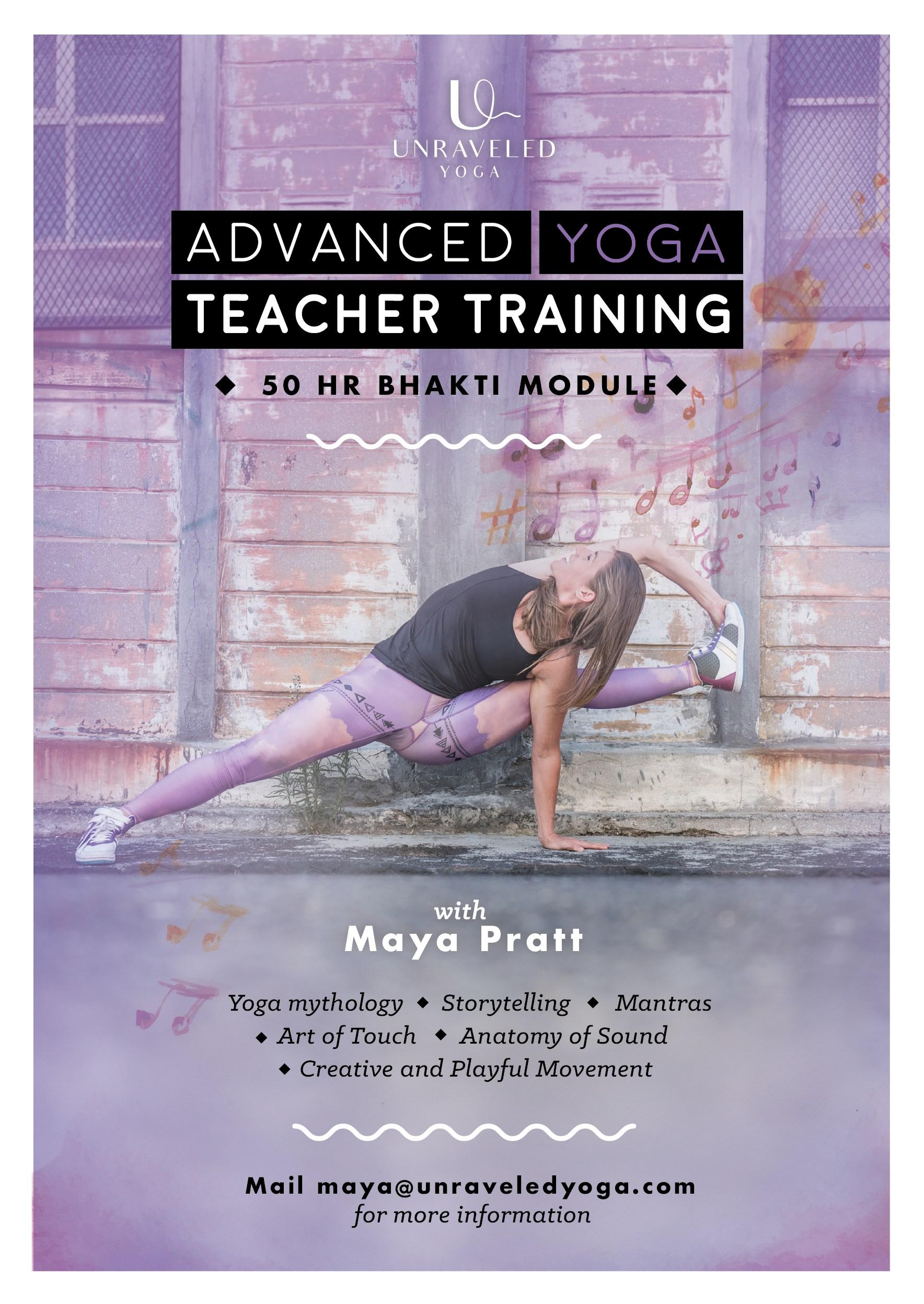 advanced teacher training yoga bhakti cape town