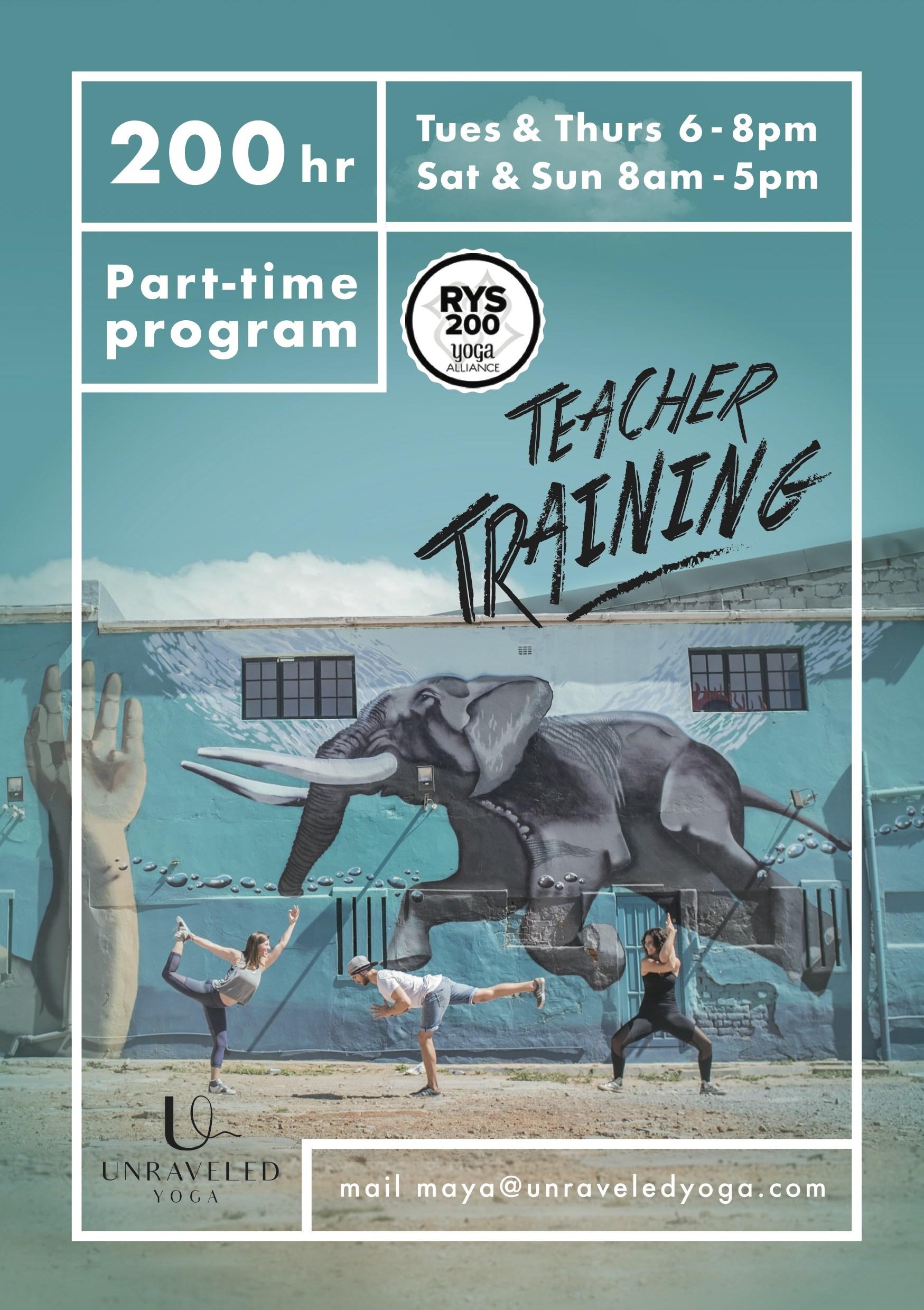 200 hour vinyasa yoga teacher training