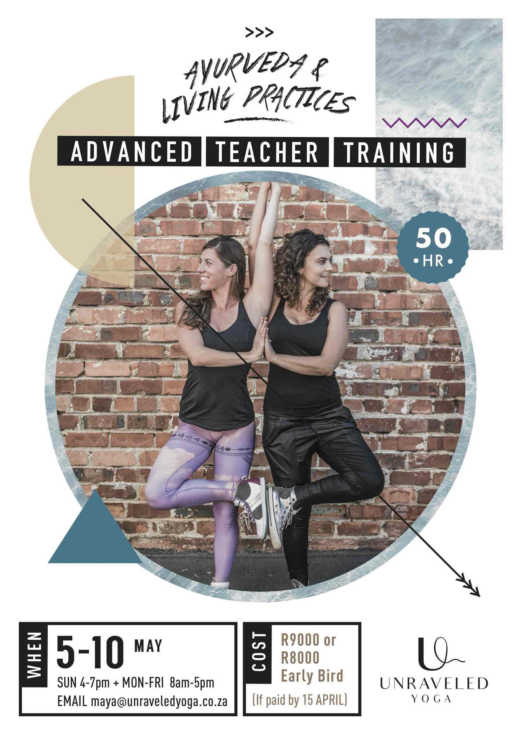 advanced yoga teacher training cape town ayurveda