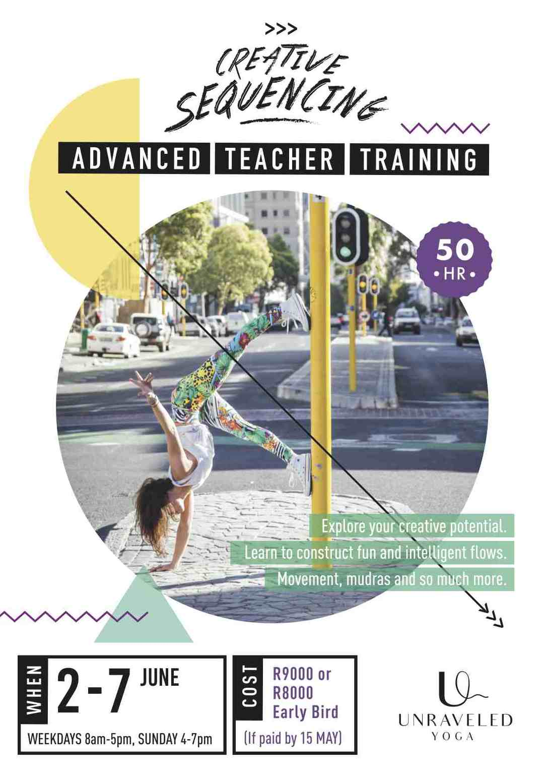 advanced yoga teacher training creative sequencing cape town