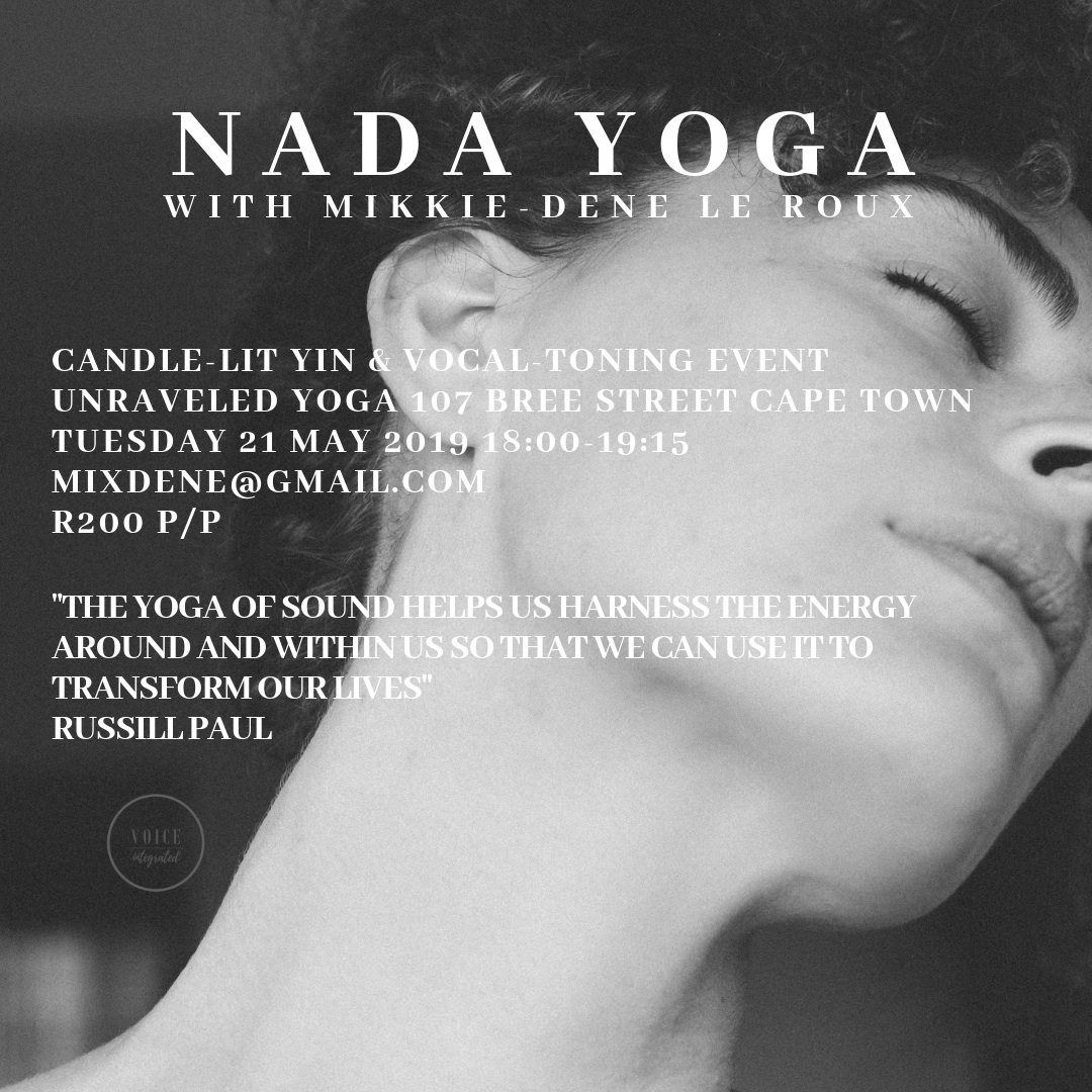 nada yoga cape town workshop yin yoga candle lit