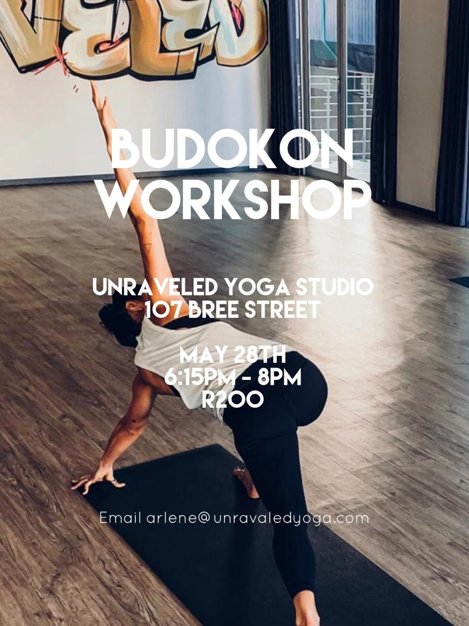 budokon yoga workshop cape town