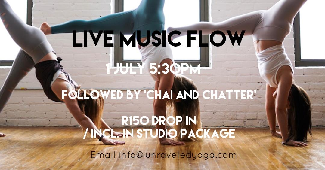 live music flow cape town yoga