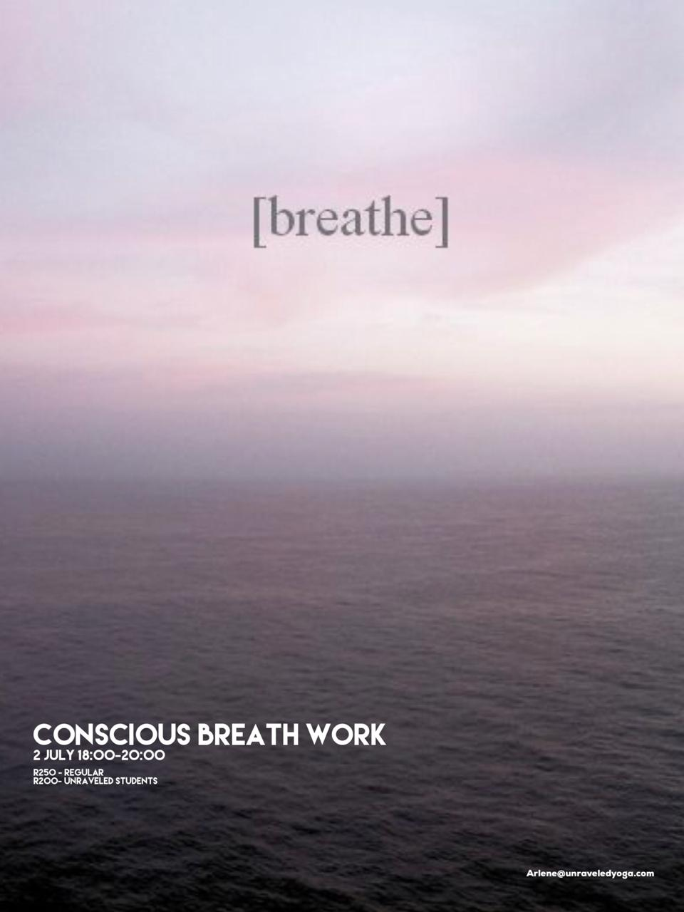 conscious breath work cape town yoga workshop