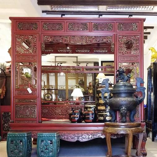 Antique Chinese Wedding Bed @ 233 South Bridge Road