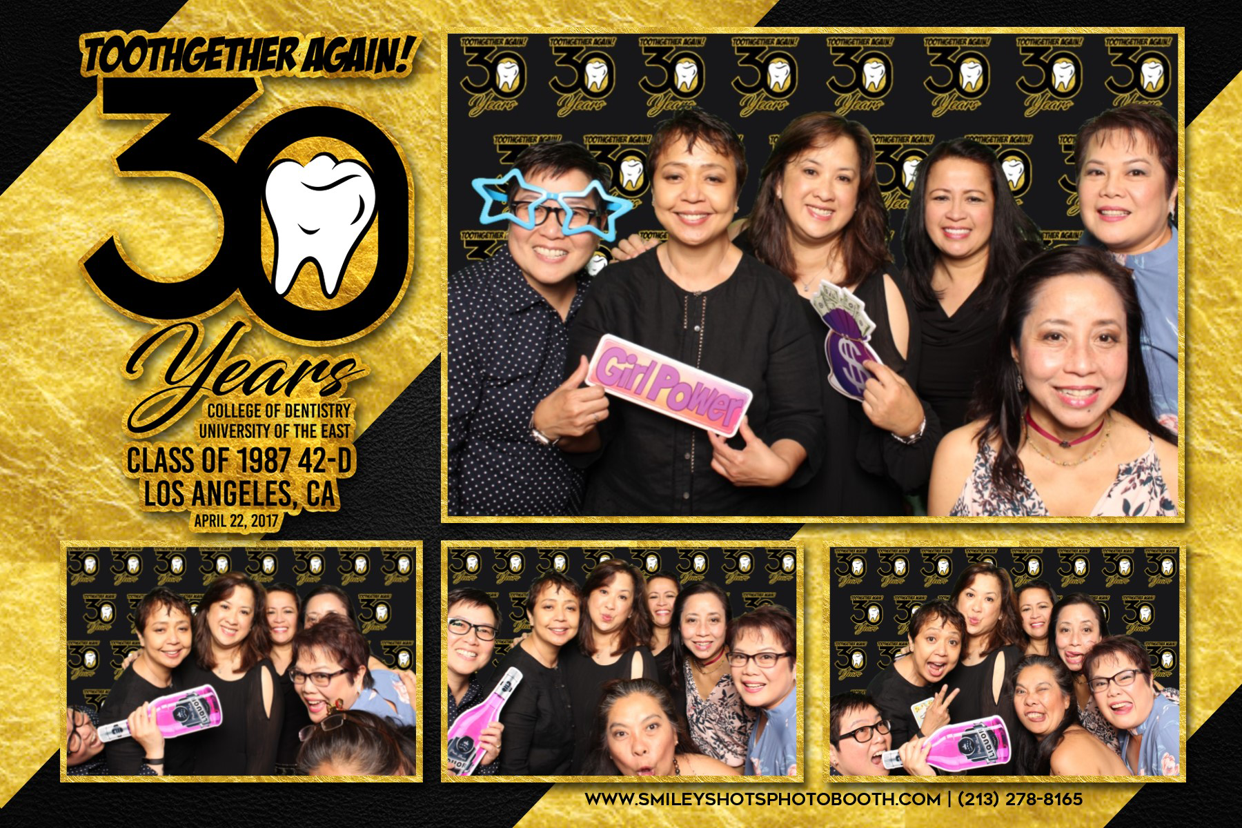 30th Years Dental UE Smiley Shots Photo Booth Photobooth (1).png