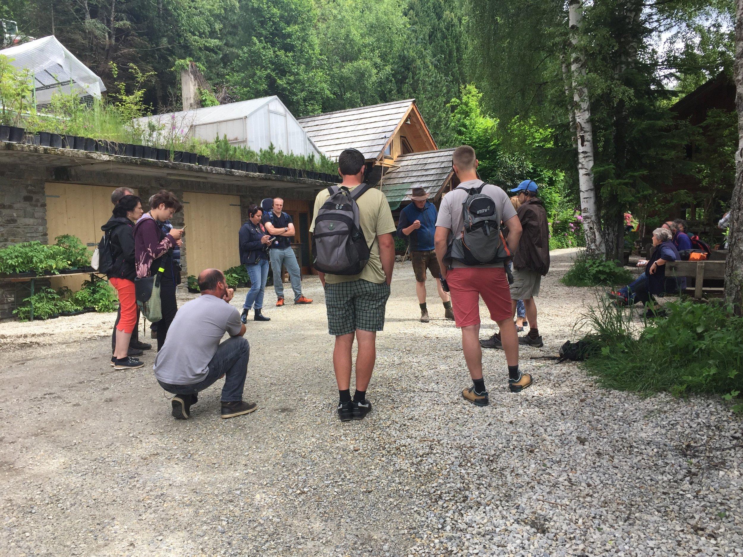 účastníci exkurze z Čech